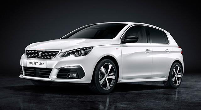 photo Peugeot 308 Allure 1.5 BlueHDI 100