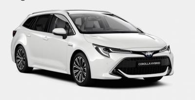 Photo Nouvelle Toyota Corolla Touring Sports Design Luxury 1.8 HSD Hybride 122